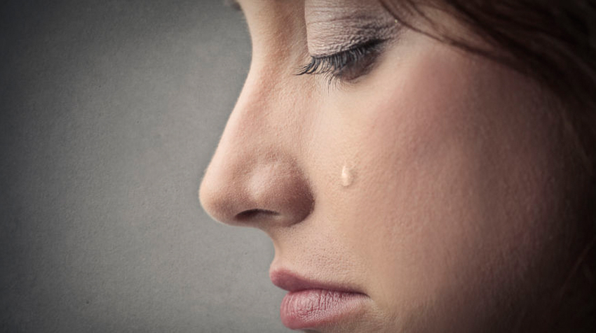 Image of Woman Crying