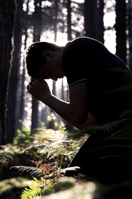 Image of Man Praying